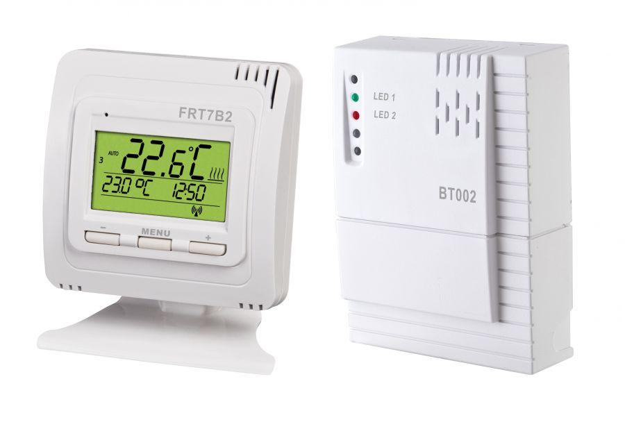 termostat pripojiť pec