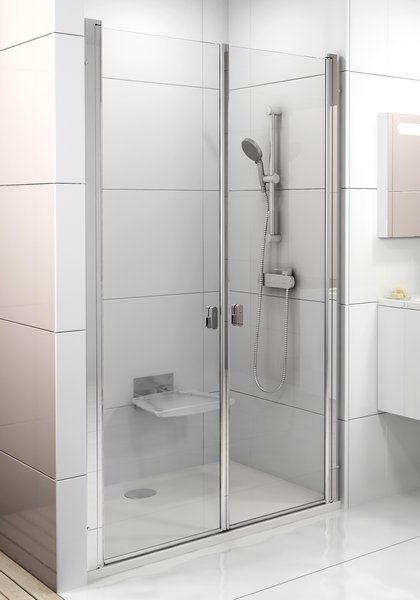 Ravak Chrome dvere CSDL2-120 satin / transparent