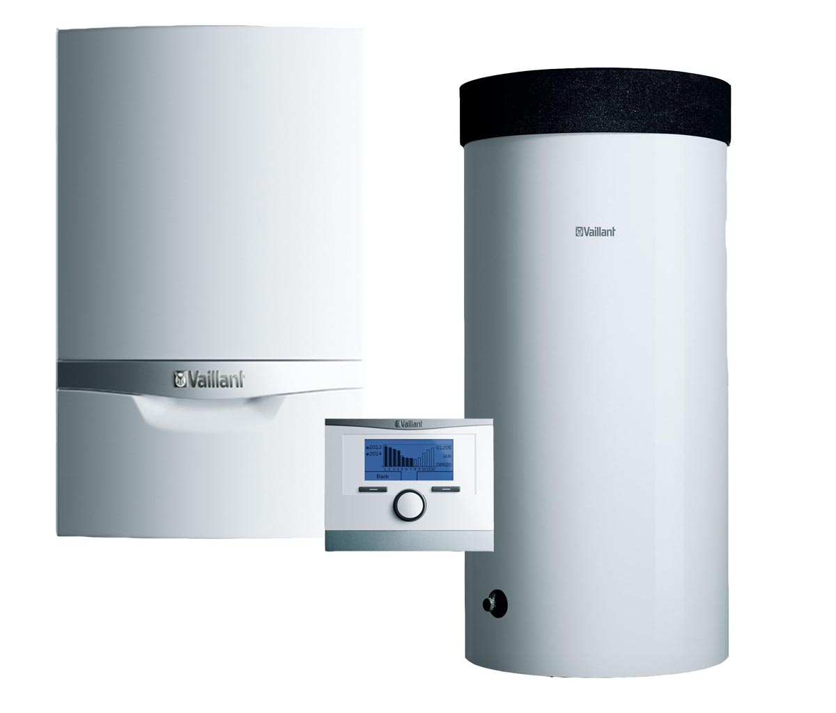 Vaillant ecoTEC plus VU INT 146/5-5 + VIH R 150 B + snímač TV