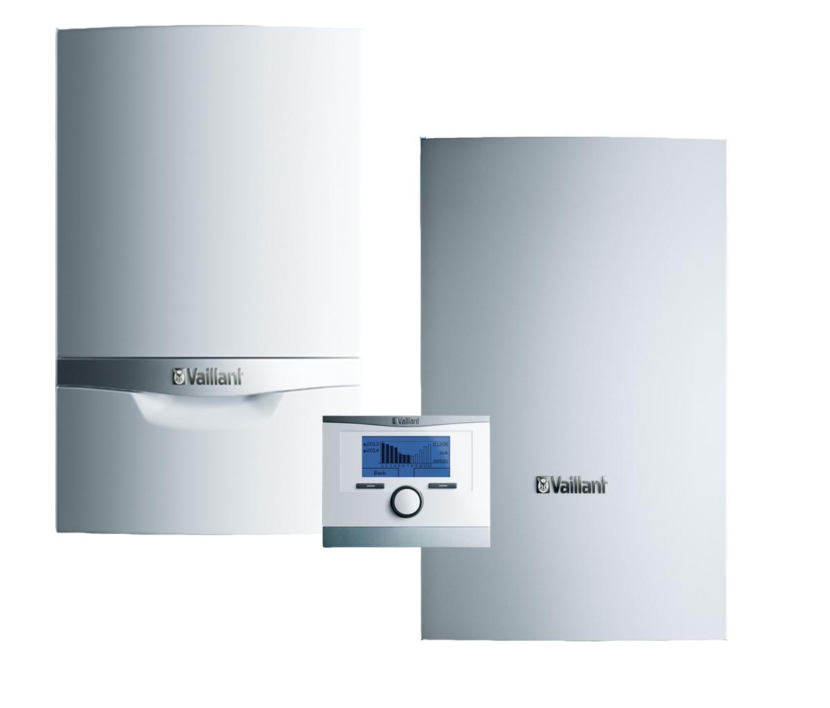 Vaillant ecoTEC plus VU INT 256/5-5 + VIH Q 75 B + snímač TV